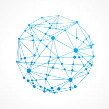 Internet-réseau Concept