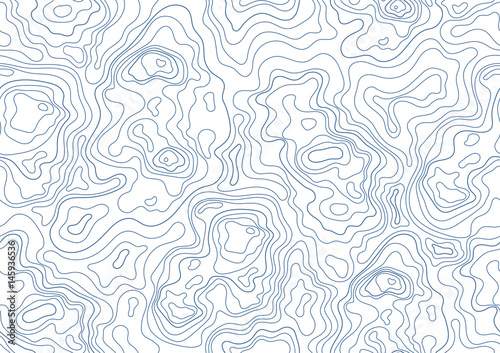 Photo  topographic map seamless pattern
