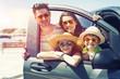 Leinwandbild Motiv family trip