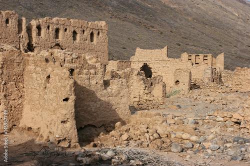 Foto op Aluminium Rudnes Historic ruins in Tanuf, Oman