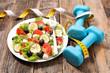 diet food, fresh salad