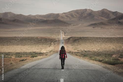 Poster Mongolia Gobi Desert