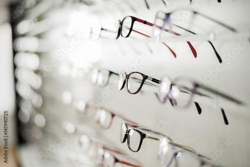 Glasses in display