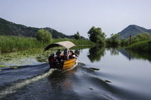 Boat On The Skadar Lake