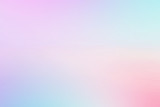 Fototapeta Tęcza - Abstract color pastel background, A soft sky with cloud background in pastel color