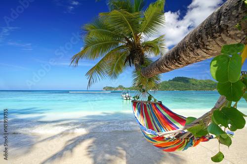 entspannter Platz am Strand