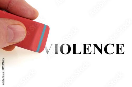 Fotografiet Effacer la violence