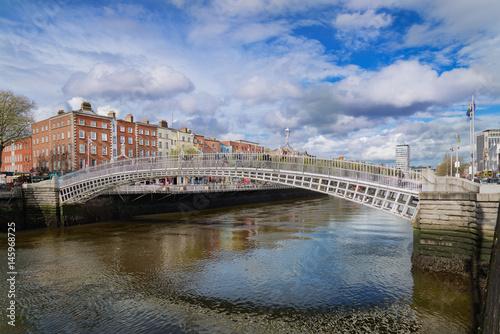 Zdjęcie XXL Most Ha'penny w Dublinie