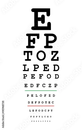 Eyes Test Chart Buy This Stock Vector And Explore Similar Vectors