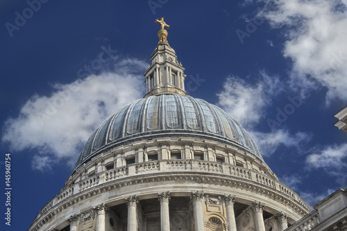 Fotografie, Obraz  The dome of St. Paul's Cathedral in London