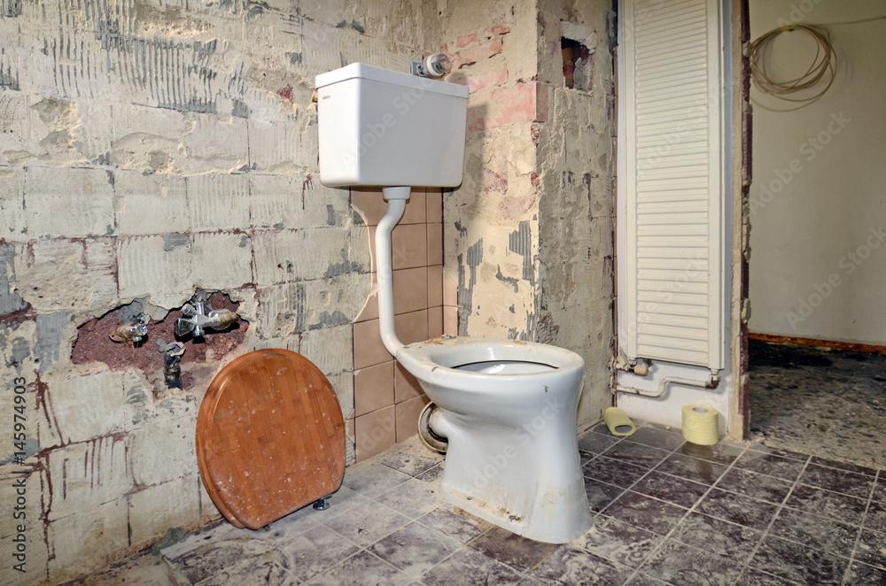 umbau Bad, WC Foto, Poster, Wandbilder bei EuroPosters
