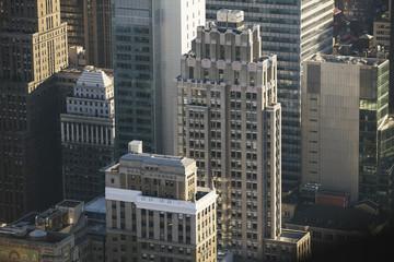 View of manhattan buildings.