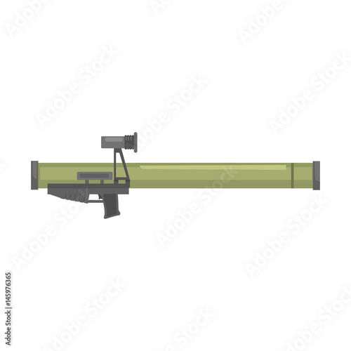 Photo Anti tank rocket propelled grenade launcher, Bazooka