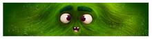 Cara De Monstruo Verde