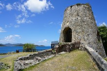View Of The Historic Landmark Annaberg Sugar Plantation Ruins In The United States Virgin Islands National Park