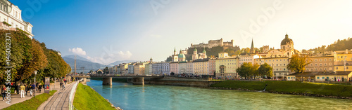 Fényképezés  Salzburg Panorama