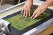 canvas print picture - Screen printing