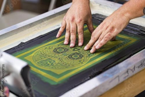 Fotografie, Obraz  Screen printing