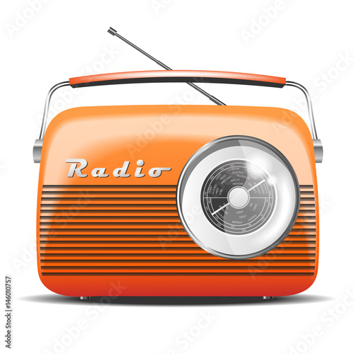 radio-orange-retro-pomaranczowe-zabytkowe-radio