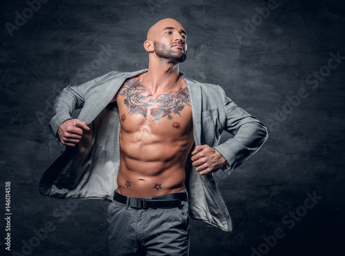 naked tattooed men