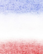 Red White And Blue Background With Vintage Grunge Texture, July 4th Or Memorial Day Background Design With Blank Copyspace