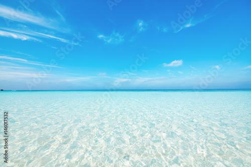 Spoed Foto op Canvas Zee / Oceaan 海 沖縄