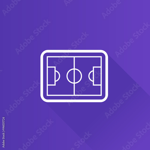 Metro Icon Soccer Field Kaufen Sie Diese Vektorgrafik Und Finden
