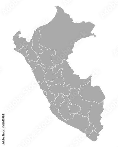 Peru Karte.Karte Von Peru Buy This Stock Vector And Explore Similar Vectors