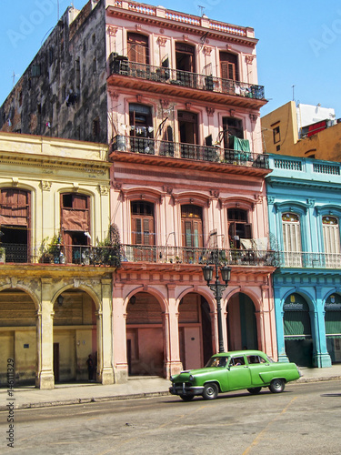 In de dag Havana Havana, Cuba, Car