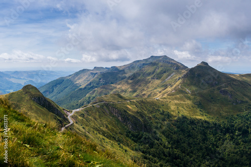 Photo View of Puy Mary, Auvergne, France