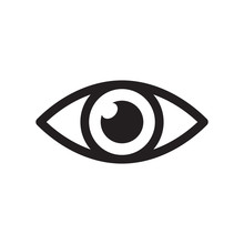 Simple Eye Icon Vector. Eyesig...