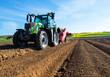 Leinwanddruck Bild - plantation des pommes de terre