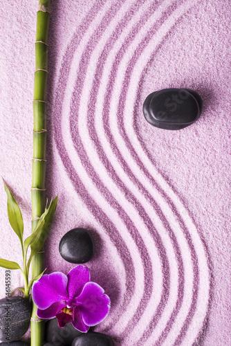 Photo sur Plexiglas Zen pierres a sable zen, giardino