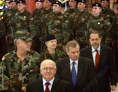 Chairman of Bosnia's presidency and NATO and Eufor