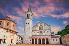 Spoleto, Umbria, Italy: Cathedral Of Santa Maria Assunta
