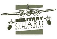 Vintage Military Logotype Template