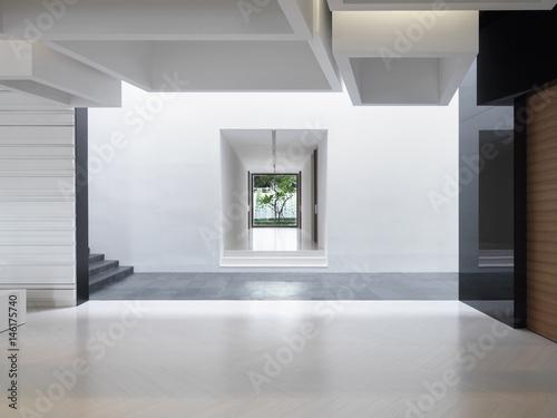 Bright open modern interior