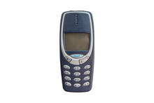 Old Cellular Mobile Phone Isol...
