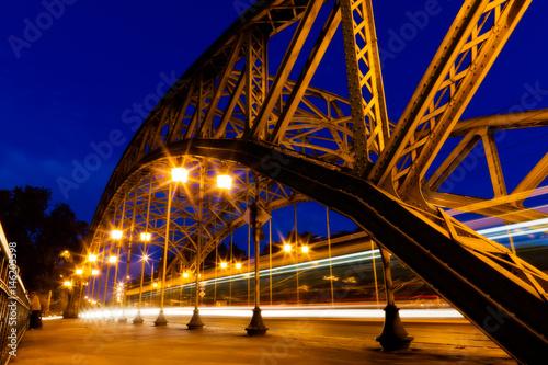 Plakat Wrocław - most przejściowy