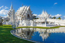 Wat Rong Khun , Temple, Buddhi...