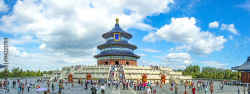 Stickers pour porte Pekin China, Temple of Heaven
