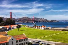 Golden Gate Bridge In San Frac...