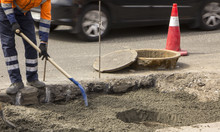 Repair Of The Road, And Installation Of A Sewer Hatch