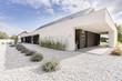 Leinwanddruck Bild - Geometric style villa