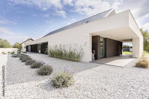 Fotografiet  Geometric style villa