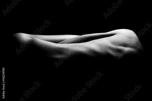 Stampa su Tela Abstract female body
