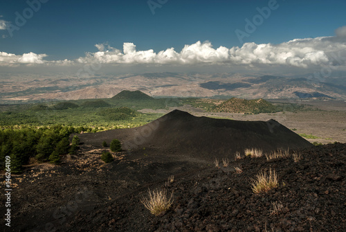 Mount Etna side crater (Monte Nuovo) Wallpaper Mural