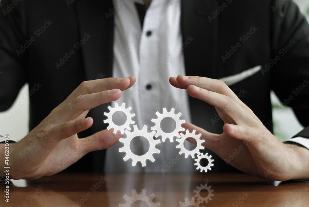 Prozessoptimierung / Integrierte Lösung Foto, Poster, Wandbilder bei ...