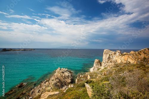 Fotografie, Obraz  Landscape near Rena Bianca, the Beach of Santa Teresa, North Sardinia, Italy