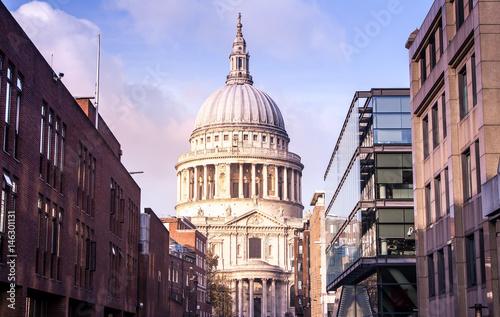 London - St Paul Cathedral, UK Wallpaper Mural